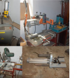 Utilaje - VAND / SCHIMB linie productie tamplarie PVC cu geam termopan