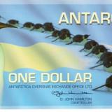 Bancnota 1 dollar Antarctica 2007 UNC necirculata