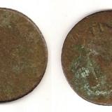 Moneda Medievala - Moneda 2 Kreuzer (AustoUngara) - 1884 (batuta dupa revolutie)