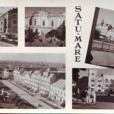 Carti Postale Romania dupa 1918 - R 5104 Satu Mare Circulata