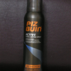 SUPER PRET!PIZ BUIN ORIGINAL spray profesional protectie solara TESTAT PE ATLETI