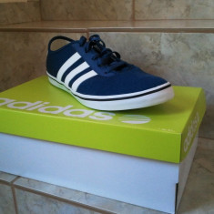 Adidasi barbati, 38 2/3, Albastru - Vand adidasi ADIDAS slim sol ORIGINALI !!!