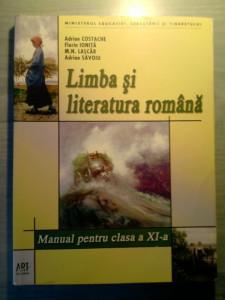 Limba si literatura romana manual clasa a XI a foto