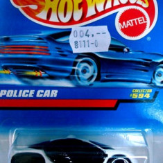 Macheta auto Hot Wheels, 1:64 - HOT WHEELS --POLICE CAR ++2000 DE LICITATII !!