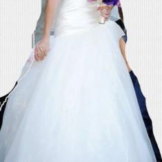 Rochie mireasa Princessa (Calin Events) - Model Ama - Rochie de mireasa printesa