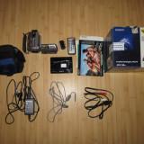 Camera Video Sony DCR-SR52, HDD 30 GB, Zoom Optic 25X, geanta + absolut toate accesoriile (telecomanda, suport, cabluri, etc.), Hard Disk, 2 - 3