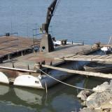 Vand ponton de acostare