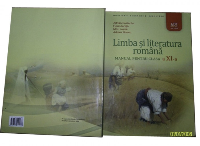 Romana clasa a XI-a editura ART foto mare