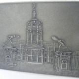 Metal/Fonta - Placheta aplica metalica veche 2 - de colectie