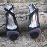 Pantofi divini pentru o dama stilata - Pantof dama, Marime: 38, Culoare: Multicolor, Multicolor