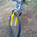 Bicicleta Mountain Bike Nespecificat Full Shimano (VANDUTA), Cu amortizor, Aliaje de aluminiu, Unisex
