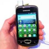 Vand samsung galaxy mini nou - Telefon mobil Samsung Galaxy Mini, Negru, Neblocat