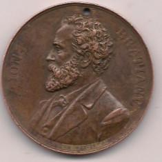 Medalie-ION BRATIANU anul 1891 - Medalii Romania