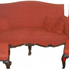 Salon stil Florentin cu vechime de peste 100 ani ( aproximativ anul 1880) - Mobilier, Seturi, 1800 - 1899