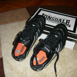ADIDAS PIELE MAS. 39 - Adidasi barbati Lonsdale, Culoare: Negru, Negru
