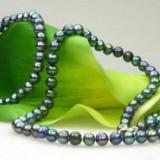Set colier si bratara din perle de cultura RF 506 - Colier perle