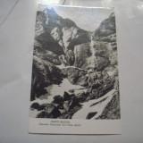 C.P.MUNTII BUCEGI - Cascada Caraiman din Valea Jepilor - Carti Postale Romania dupa 1918