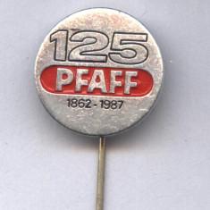 INSIGNA PFAFF 1862-1987 -MASINI DE CUSUT