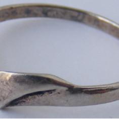 Inel vechi din argint (122) - de colectie