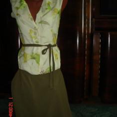 Costum dama de vara- marimea 40, Costum cu fusta