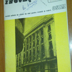 Revista osim (oficiul de stat pt. inventii si marci )nr.1/1989 - Revista casa