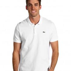 Tricou barbati Lacoste, Maneca scurta, Bumbac - Tricou LACOSTE Polo White XL