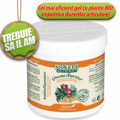Gheara Dracului (250ml)Gel antiinflamator cu plante BIO Krauter - Remediu din plante