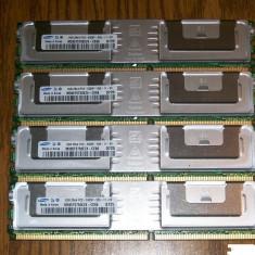 Memorii ram Samsung 4x2gb 2Rx4 PC2-5300F - Memorie server
