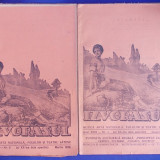 2 NUMERE IZVORASUL-REVISTA DE MUZICA,ARTA NATIONALA SI FOLCLOR / IAN.SI MARTIE * TURNU-SEVERIN - 1939
