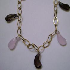 Set bijuterii aur, 18k - Superb colier si bratara aur 18 k