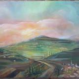 Paysage du Midi - semnat R. De Hollander - Pictor strain
