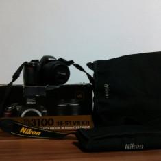 Vand Nikon D3100+18-55vr - Aparat Foto Nikon D3100