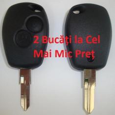 Carcasa cheie Auto - SET 2 X CARCASA CHEIE DACIA LOGAN 2 BUTOANE ( SANDERO, DUSTER, CARCASE CHEIE) LA CELE MAI MICI PRETURI
