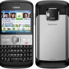 Nokia E5 - cu folie - Telefon mobil Nokia E5, Negru