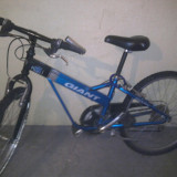 Vand bicicleta Giant piese originale - Bicicleta de oras Giant, V-brake, Drept(Flatbar), Otel, Fara amortizor, Baieti