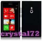 Livrare gratuita in Romania!!! Husa silicon protectie pentru Nokia Lumia 800 + folie protectie ecran + laveta, calitate - Husa Telefon