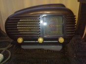 RADIO CU LAMPI DE EPOCA  -  TESLA ( TALISMAN ) foto