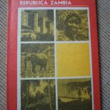REPUBLICA ZAMBIA - Carte Geografie