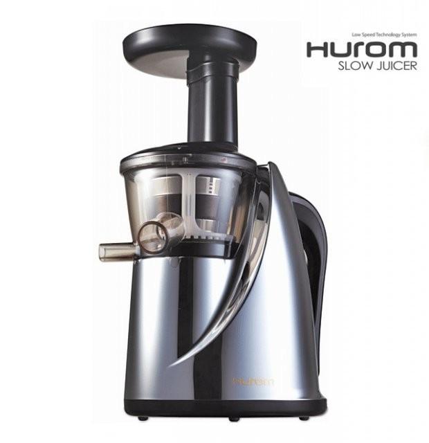 Hurom Slow Juicer Forum : Storcator de fructe si legume prin presare la rece - Hurom Slow Juicer HU 400 Chrome ( Nou / In ...