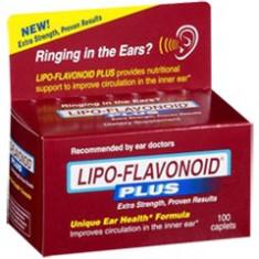 Tratament Tiuit Urechi / Tinitus / Meniere / Vertij - Lipoflavonoid - 100CPS - Vitamine/Minerale