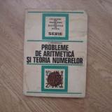 Culegere Matematica - Culegere probleme de aritmetica si teoria numerelor anul 1976