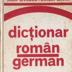 DICTIONAR ROMAN GERMAN PENTRU UZUL ELEVILOR de JEAN LIVESCU si EMILIA SAVIN teora
