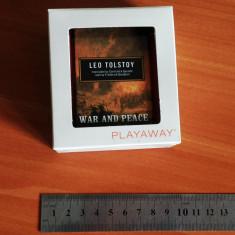 War and peace - Leo Tolstoy (Preloaded Digital Audio Player PLAYAWAY) - in limba engleză - Audiobook Altele