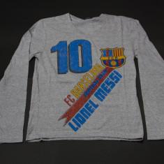 BLUZE FC Barcelona Lionel Messi - Tricou barbati, S, M, Gri