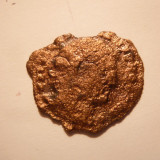 Moneda Antica, Europa - Moneda Romana -Dupondus, bronz, curatata, d= 2, 8 cm
