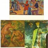 CP - Ilustrate Romania - Picturi - Lot 11 buc. / Necirculate / F312, Necirculata, Printata, Romania de la 1950