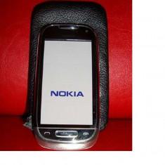 Telefon mobil Nokia C7, Gri, Neblocat - Vand Nokia C7 in stare impecabila