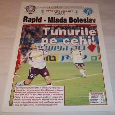 Program Rapid Bucuresti - Mlada Boleslav (2006) - Program meci