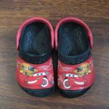 Papuci plaja pentru copii - cars