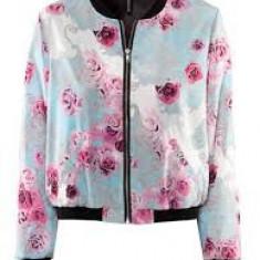 Geaca subtire H&M Conscious, mar. 36, noua! - Geaca dama H&m, Culoare: Multicolor, Multicolor, Poliester